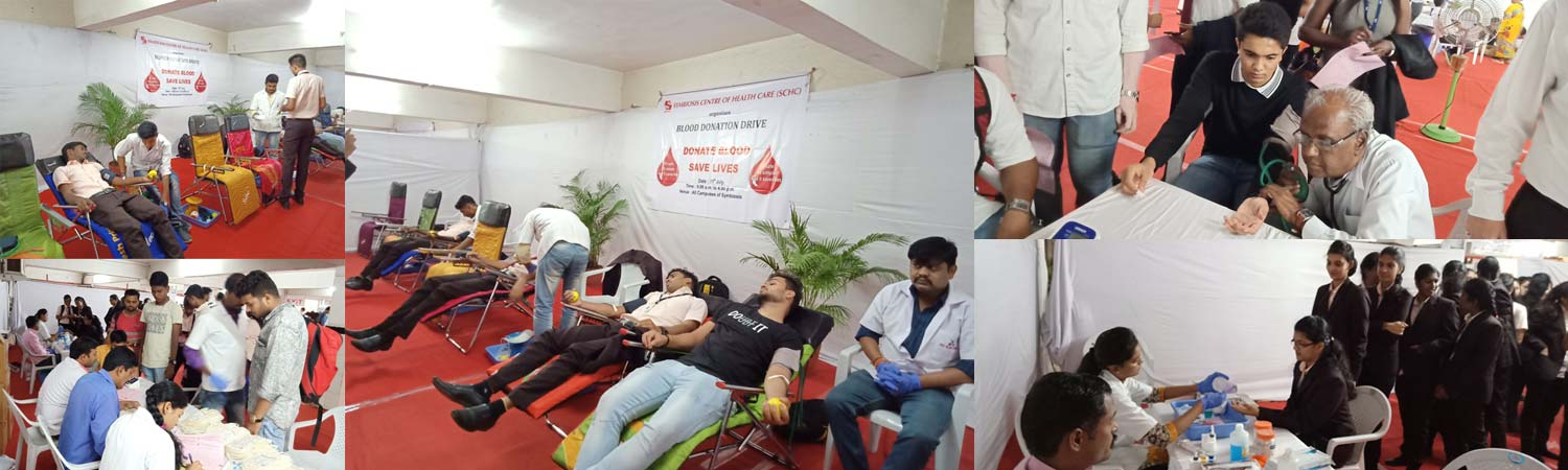 Blood Donation Drive at Symbiosis